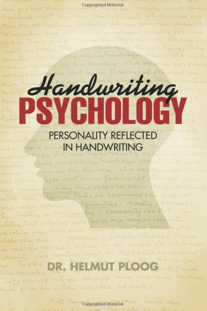 Handwriting Psychology, iUniverse Bloomington 2013, zu bestellen bei amazon.com