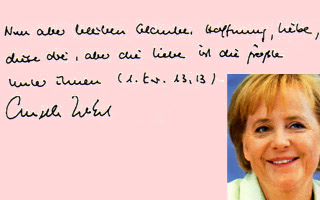 Graphologie | Merkel
